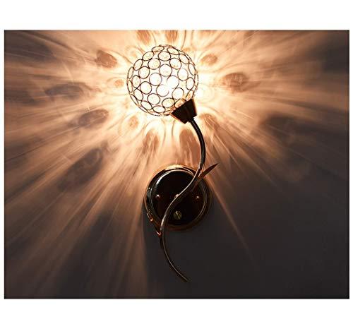 Nachttischlampe Wandleuchte Schlafzimmer Wohnzimmer Gang Treppe Einfache Moderne Kreative Kristall Lampen Amerikanischen Kontinentaleuropa