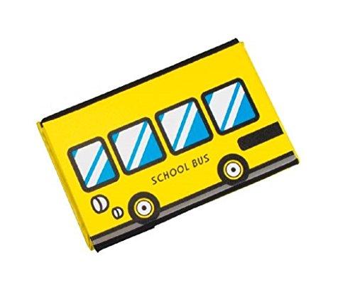 Caja con tapa acolchado Diseño Scool Front Autobús escolar en amarillo Front Auto Multicolor–Taburete plegable–Taburete tapizado 40cm x 25cm x 25cm asiento Caja Banco taburete Caja de piel sintética Box Caja para juguetes Tapa abwischbar