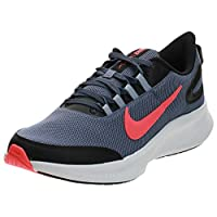 Nike Runallday 2, Men's Road Running Shoes, Blue (Diffused Blue/Laser Crimson/Black 401), 46 EU