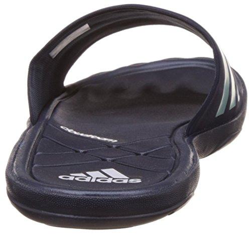 adidas Herren Adipur Slipper Aqua Schuhe, Blau (Collegiate Navy/Vapour Steel/Clear Grey), 42 EU -