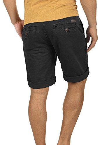 ... SOLID Viseu Herren Chino-Shorts kurze Hose Business-Shorts aus 100% Baumwolle  Black ...