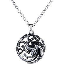45a99d7c6b74 Lureme Juego de Tronos Inspirado Targaryen Colgante Traje Collar (nl005382)