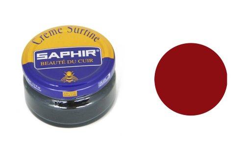 Cirage Saphir pommadier (Crème Surfine) rouge cerise