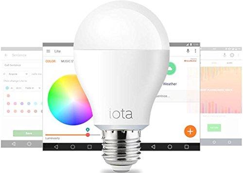 Iota Lite Bluetooth Smart LED bulb (with music sync)