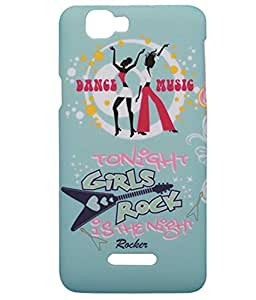 Exclusive Matte Finish Hard Back Case Cover For Micromax Canvas 2 Colors A120 - Girls Rock