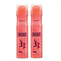Engage Woman Bodylicious Deodorant Spray - Blush (165ml) (Pack of 2) SF011 SF Yardley 19