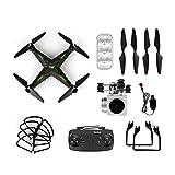 Drone con Telecamera professionale HD 2.4G WIFI Telecomando per elicottero...