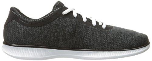 Sport scarpe per le donne, colore Nero , marca SKECHERS, modello Sport Scarpe Per Le Donne SKECHERS GO STEP LITE AGILE Nero Nero/Bianco