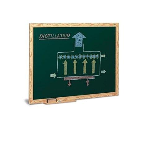 Pizarra verde lacada Faibo 90x120cm marco de madera