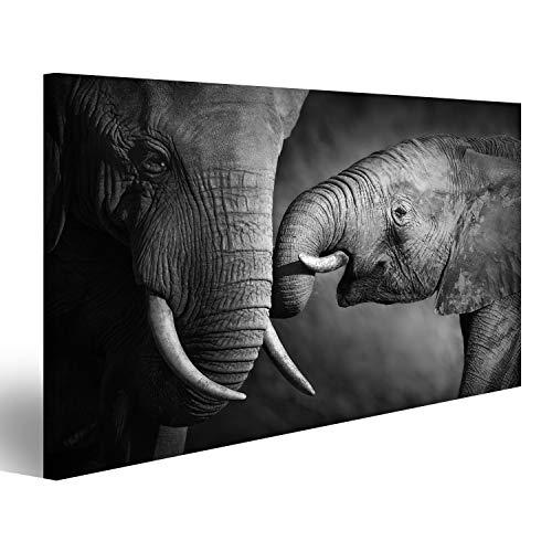 islandburner Cuadro Cuadros Elefantes Que Muestran afecto procesamiento artístico Genial y Muy...
