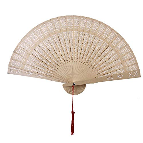 Fan Wood - Chinese Japanese Sandalwood Hand Fan Wooden