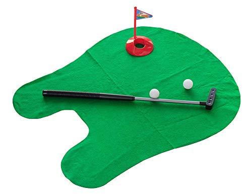 Golfspiel Set Mini Töpfchen Golf Bad Golfspiel Indoor Golf Praxis Männer/Kinder Geschenk Golftraining Putting Praktisches Spielzeug Lustig -