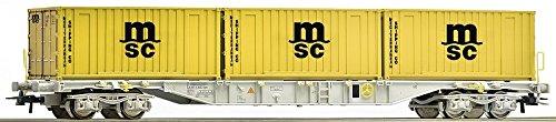 Roco 76922 Wagon porte-conteneurs MSC de AAE H0