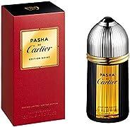 Cartier Pasha De Cartier Limited Edition Noir Eau de Toilette Perfume, 100 ml - Pack of 1