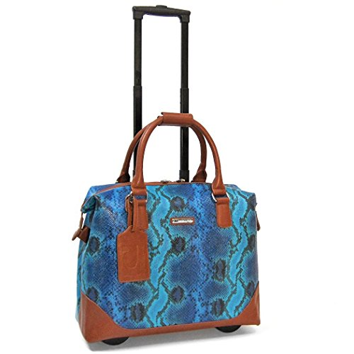 cabrelli-bali-reptile-15-inch-laptop-bag-on-wheels-briefcase-blue-multi