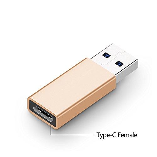 USB 3.0 USB Typ C Astarye USB A Male zu C weibliche Konverter Stecker Adapter für Seagate Innov8, SanDisk Extreme 900, Google Pixel, Nexus 5 X, 6P, Lumia 950, XL, - Nexus 7-hdmi-adapter Google