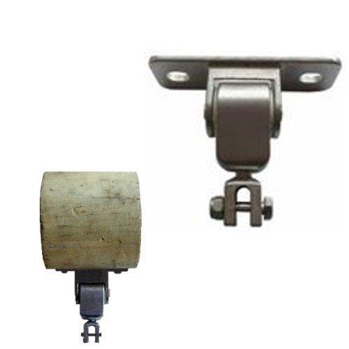 Preisvergleich Produktbild Schaukelhaken Schaukelgelenk mit Montageplatte für Kantholz