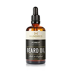 Beard Oil, Forest™ Blend (100ml), All Natural - 7 Premium Oils Blended Into a Mouth Watering Concoction - Guaranteed to Soften Your Beard and Make it Kissable