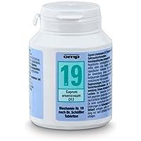 Schüssler Salz Nr.19 Cuprum arsenicosum D12 - 400 Tabletten, glutenfrei