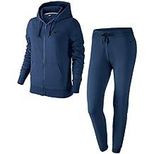d7f0d237c3 Nike W NSW TRK Suit Jsy CF – Tuta per Donna, Donna, W Nsw