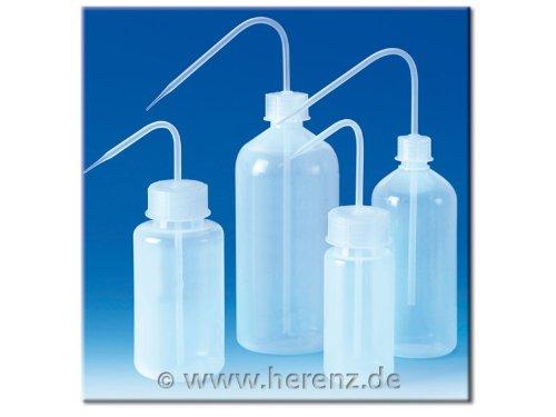 Preisvergleich Produktbild Spritzflasche PE-LD rund transparent Enghals 50ml, Karton mit 24 Stück