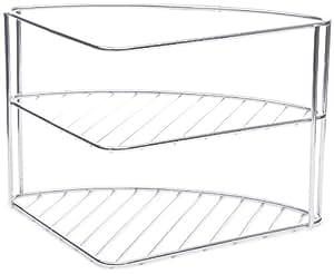 Wenko 2341100 Basic Etagère pour Vaisselle Dimensions 34,5 x 21,5 x 25 cm