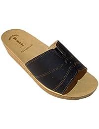 e pantofole it Nero borse Amazon Scarpe inblu AqSzzF