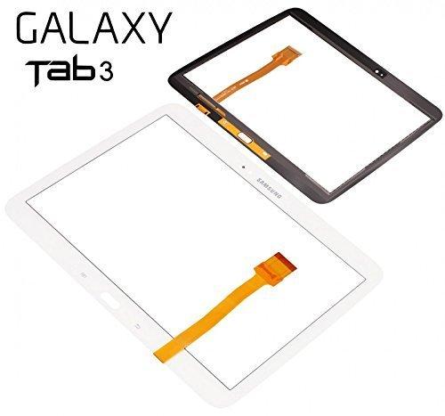 Express Shop Angebot! Samsung Galaxy Tab 3 10.1 P5200 P5210 Display Glas Touchscreen Digitizer WEIß WHITE Tool inklusive tools Kein LCD Display!