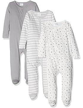 Twins Unisex Baby Strampler im 3er Pack