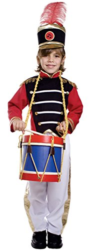 Dress Up America 501-L - Tambourmajor Kostüm, 12-14 Jahre, Taille 91 cm, Größe 140 cm, (Kostüm Marching Kind's Band)