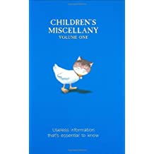 Children's Miscellany: Useless Information That's Essential to Know!