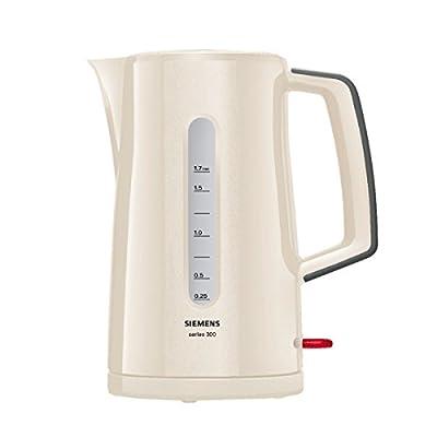 Siemens - TW3A0107 - Bouilloire Electrique, 2400 watts, Crème / Gris