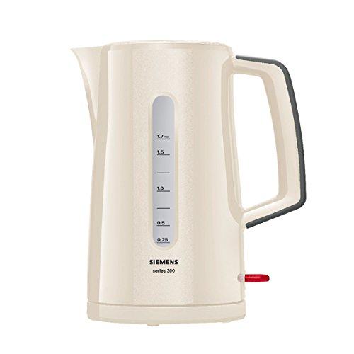 Siemens Series 300 TW3A0107 Wasserkocher (2400 Watt) creme