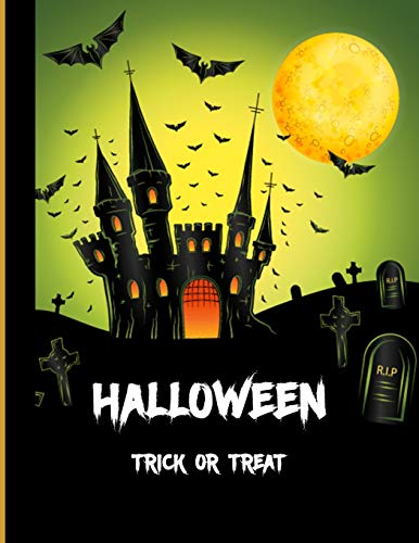 Halloween  Trick or Treat: Halloween Planner|Happy Halloween| A Haunted House| Halloween Trick or Treat| Halloween Celebrations and Ghost Festival / 8.5