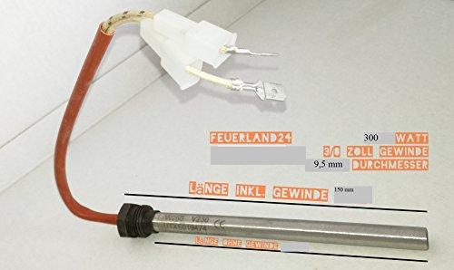 300 Watt Zündwiderstand Zündkerze für Pelletofen Pelletsofen