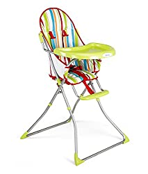 LuvLap Sunshine Baby High Chair (Green)