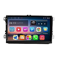 KKXXX S9 Für VW Volkswagen Android Auto Stereo 9 Zoll GPS-Navigation Autoradio AM / FM / RDS CANBUS ISO-Kabel 1 GB RAM 16 GB ROM Spiegel Link BT Freisprechfunktion Lenkradsteuerung