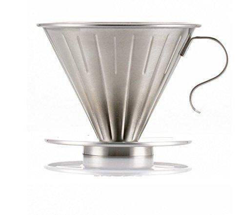 Edelstahl Kaffeefilter Wiederverwendbar Kaffee Filter/Teefilter, Geeignet Für 1 bis 4 Tassen...