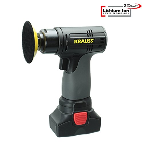*Lithium Ion Akku 14,4V/2,0Ah Mini Poliermaschine, Polisher, Auto Polierer RS-201*