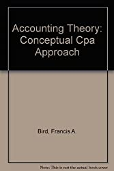 Accounting Theory: Conceptual Cpa Approach