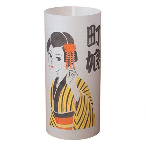 Shino Machi Musume - Lámpara Japonesa Hecha Mano