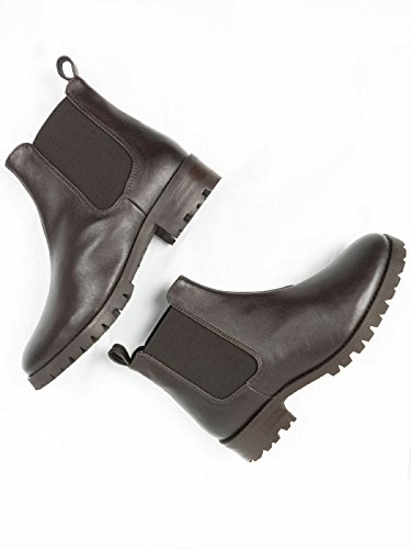 Will's Vegan Shoes Chelsea Boots Dark Brown-9 UK/42 EU/11 US