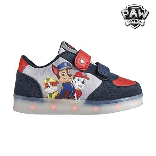 Zapatillas deportivas con luz Patrulla Canina T.30