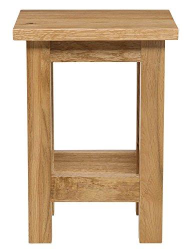 Oak Side Table: Waverly Oak Small Side Table In Light Oak Finish