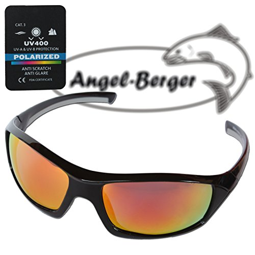 Angel Berger High UV Polarisationsbrille verschiedene Modelle (Rainbow)