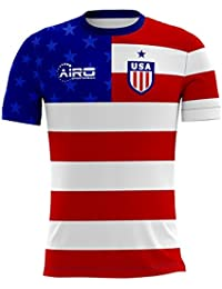 Airo Sportswear 2018-2019 USA Home Concept Football Soccer T-Shirt Camiseta