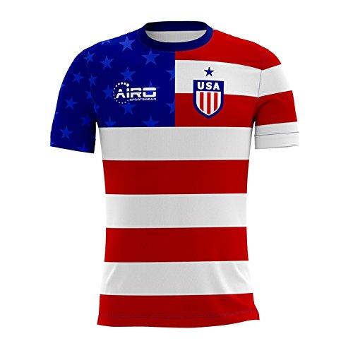 3223435afcc Airo Sportswear 2018-2019 USA Home Concept Football Soccer T-Shirt