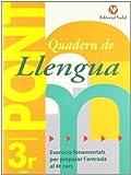 Pont. Quadern De Llengua. Canvi De Curs 3 (Pont (canvi De Curs))