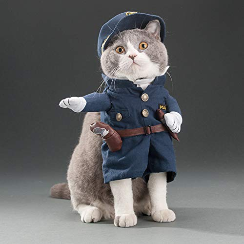 Smoro lustige Polizisten Jacke Anzug super süße