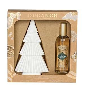 DURANCE Coffret Parfum d'Ambiance et Sapin Au Pied du Sapin